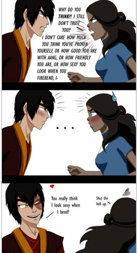 I do love Aang and Katara but Zutara was always something I secretly shipped