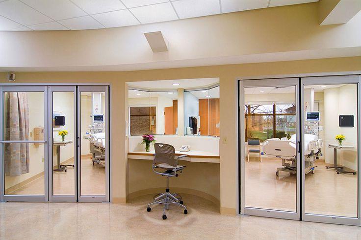 #ICU - Cleveland Clinic - Marymount Hospital | Hasenstab Architects