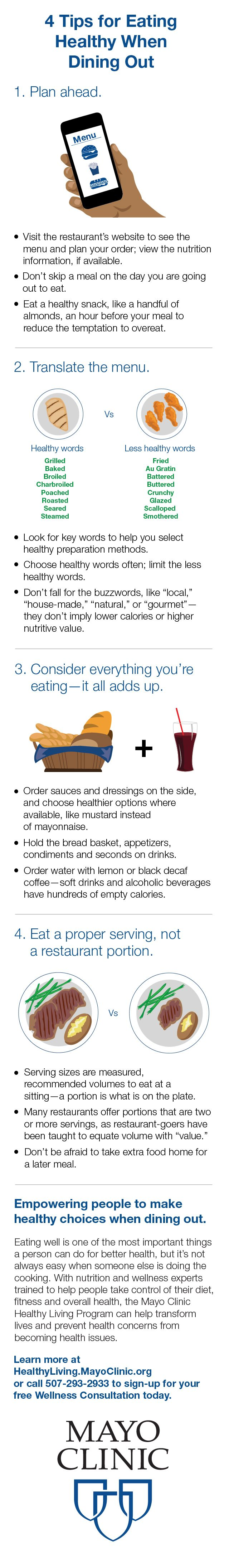 Tips on eating someone out - 4 Tips For Eating Healthy While Dining Out