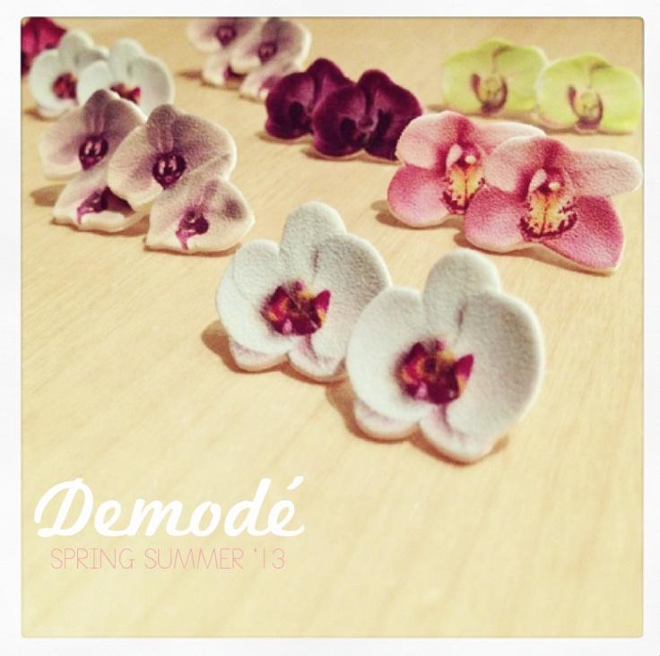 Orchidea Earrings  Demodè Lovely Things