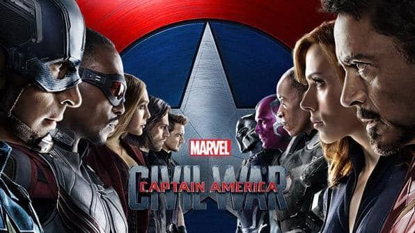 Captain America: Civil War, Movie on BluRay, Action Movies, Adventure