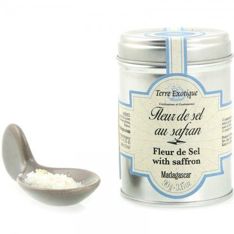 Fleur de sel au Safran - Fleur de sel with saffron
