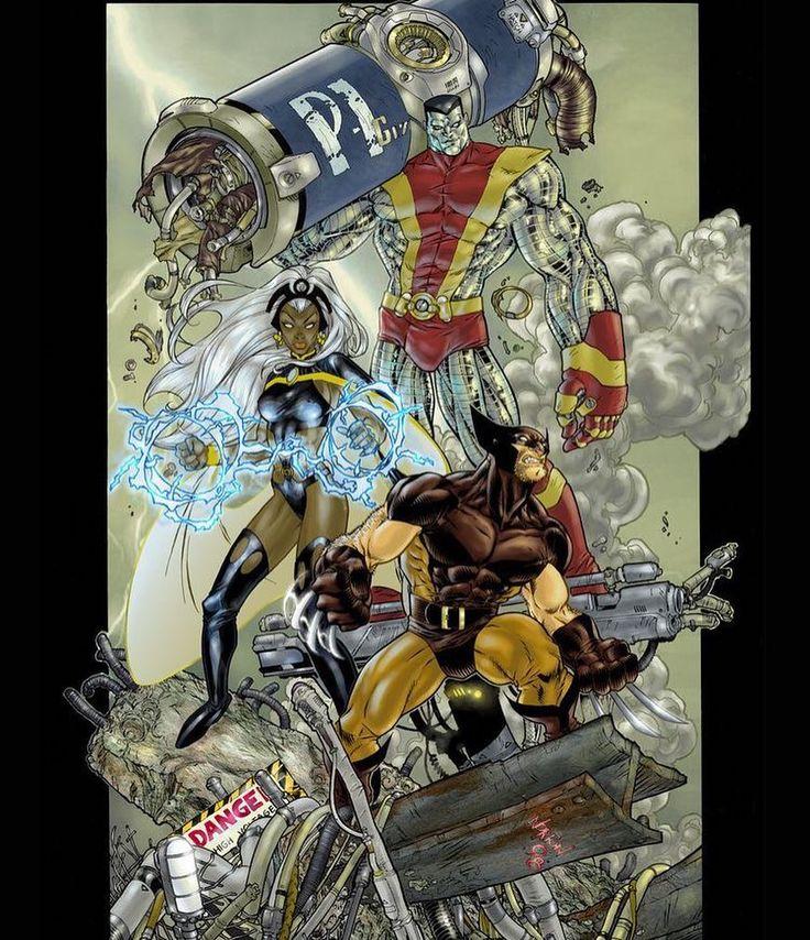 Tuff Crew  Art by Dan Norton  #uncannyxmen #xmen #avengers #avx #allnewxmen #uncannyxmen #ageofapocalypse #xmenapocalypse #marvel #xmentheanimatedseries #rogue #wolverine #cyclops #storm #gambit #magneto #apocalypse #psylocke #deadpool #xforce #archangel #jeangrey #nightcrawler #marvelcomics #comicbooks #phoenix http://ift.tt/1VjM02M