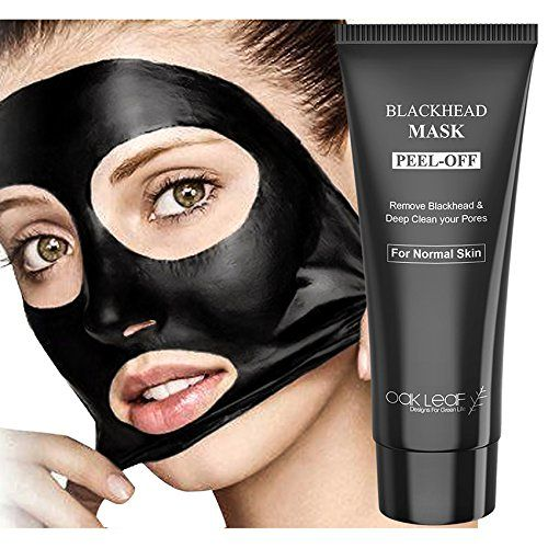 Charcoal Peel Off Mask, Oak Leaf 100g(3.5oz) Blackhead Remover Mask Peel Off Mask Bamboo Black Facial Mask Mud Mask for Deep Cleansing,Blackhead Whitehead Romoval,Pore Cleansing,Nose Acne.
