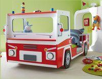 Lit camion de pompier enfant
