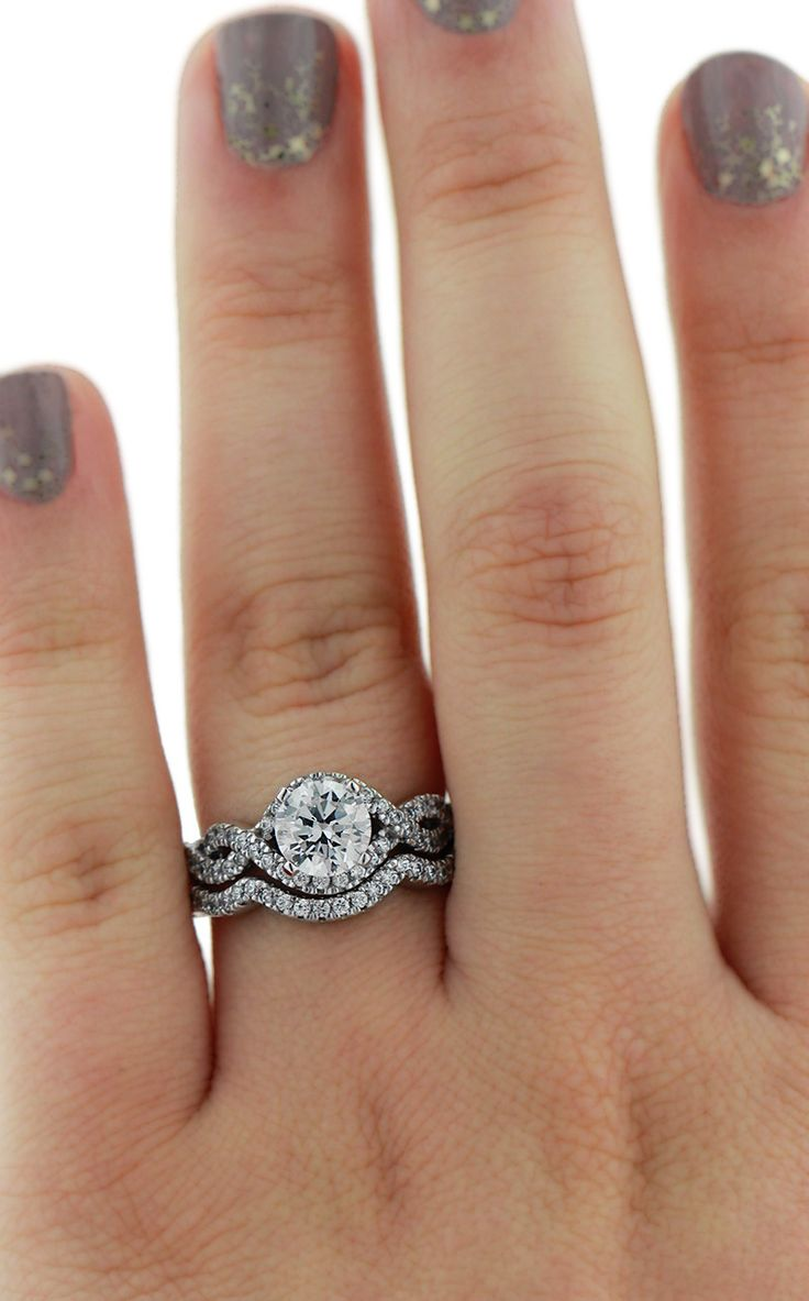 Best 25+ Infinity Wedding Rings Ideas On Pinterest  Small Wedding Rings,  Pretty Rings And Small Engagement Rings