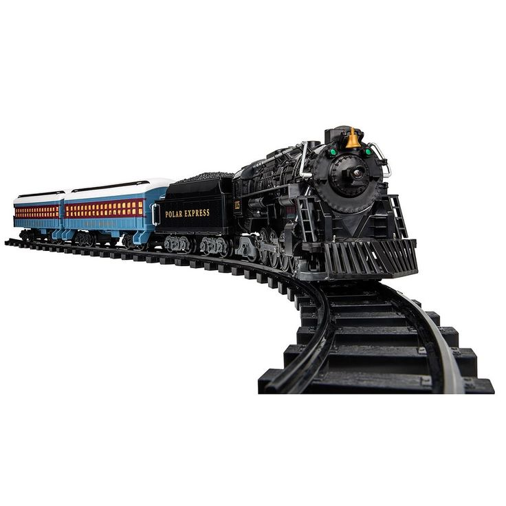 The Polar Express 2016 Ready-to-Play Train Set by Lionel Trains, Multicolor