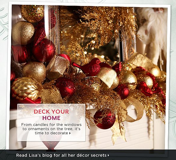 Lisa Robertson's Holiday Décor Picks