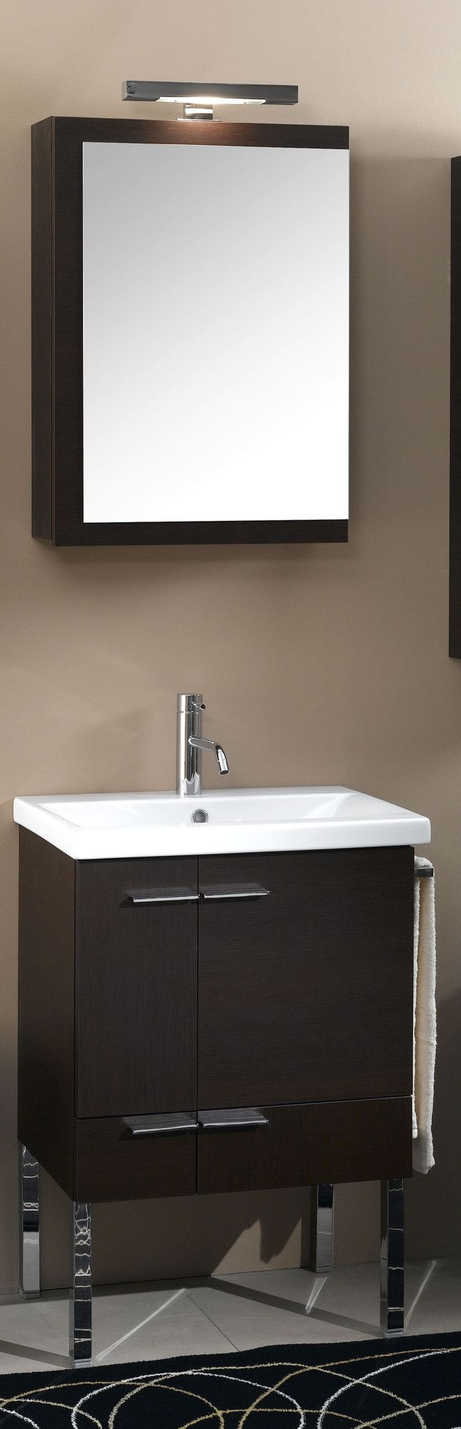Picture Collection Website Simple Wall Mounted Bathroom Vanity Set Wayfair