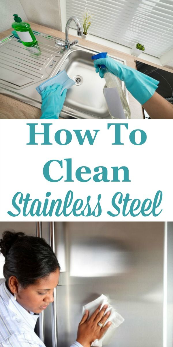 Tips and instructions for how to clean stainless steel surfaces found throughout your kitchen, including your utensils and flatware, cookware, sinks, and even your appliances. There's even tips for making sure you have less streaks and fingerprints on stainless steel appliance fronts. #ad