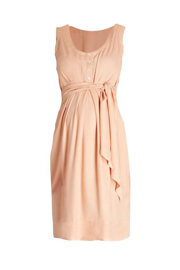 Una Maternity and Nursing Summer Dress Peach - USD$141.60 from Blush and Bloom www.blushandbloom.com/shop/maternity-fashion/nursing-wear/Una-Maternity-and-Nursing-Summer-Dress-Peach/