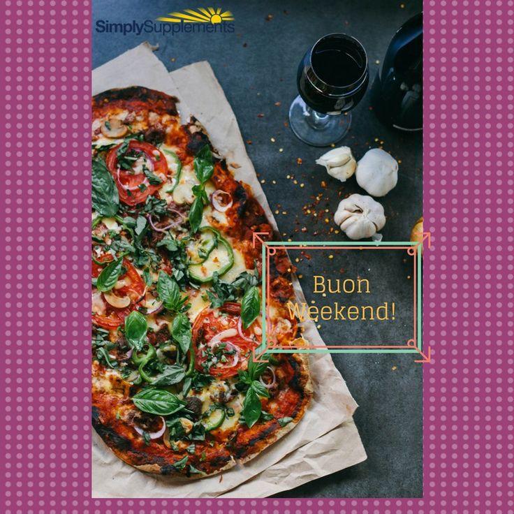 Anche la pizza del sabato sera può rientrare felicemente in una dieta equilibrata.Buon fine settimana!