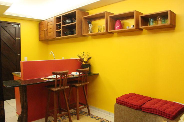 Cozinha do Apartamento Conforto