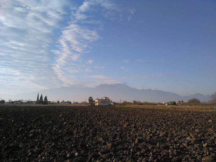 #MountOlympus #MontOlympe, Pieria, Northern #Greece, Dec. 19, 2015, morning