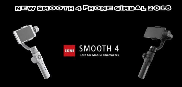 New Zhiyun Smooth 4 Gimbal For Smartphones The DJI Osmo Mobile 2 Killer #Zhiyun #Gimbal #zhiyunsmooth4