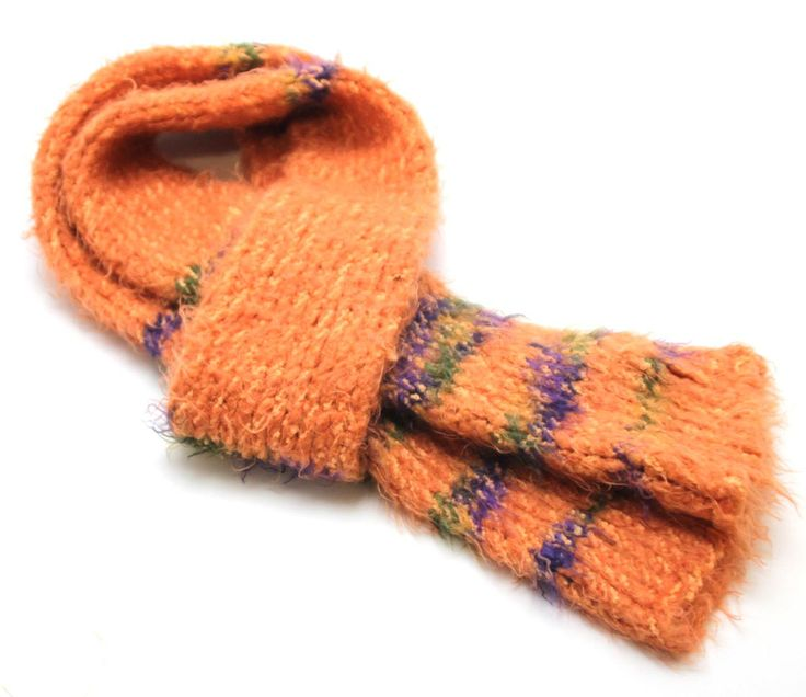 Muffler Scarf Coral Knit