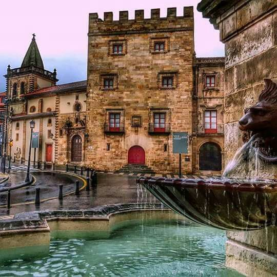 Gijon, Asturias, Spain from Twixt Firelight and Water: Sevenwaters 5.5 by Juliet Marillier