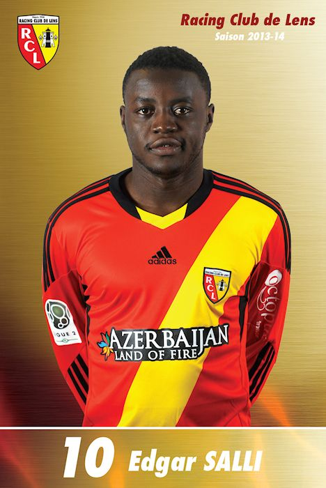 Racing Club de Lens : Edgar SALLI