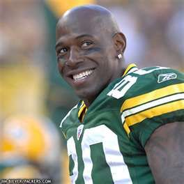 Green Bay Packer Donald Driver, the soul of the Pack