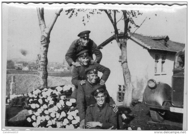 Bulgaria army in Macedonia 1941 Edessa
