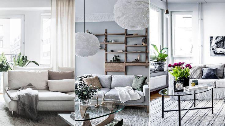 9 compact living-tips för det lilla vardagsrummet