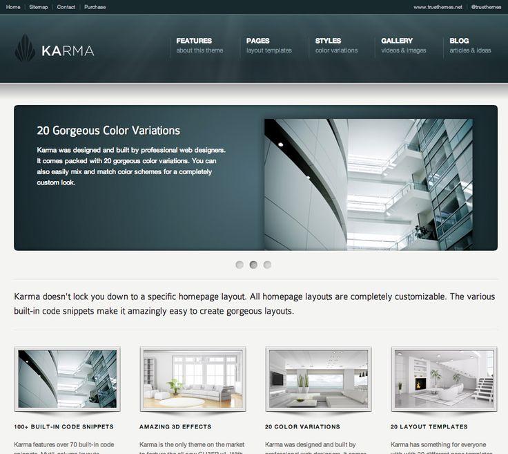 Karma Corporate Website Design