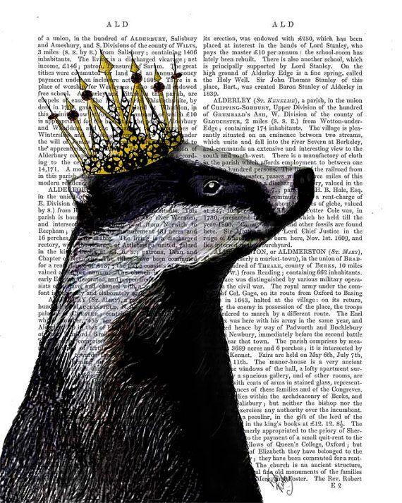 Deer & Birds Nest Wall Art Art Giclee Print Acrylic by FabFunky