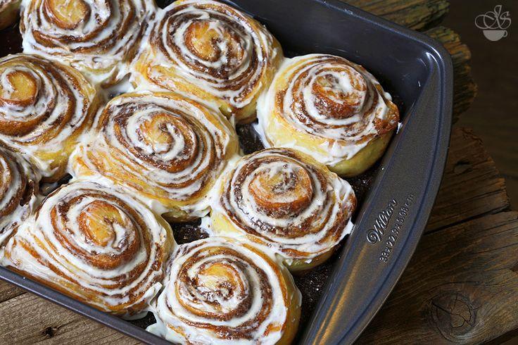 Копия булочек известной сети Синнабон. Те, кто хотя бы раз попробовали эти булочки, понимают, почему пекарня смогла приобрести такую известность, имея в…