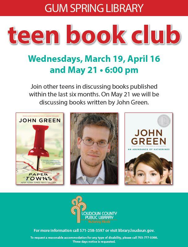 Online Teen Book Club 74