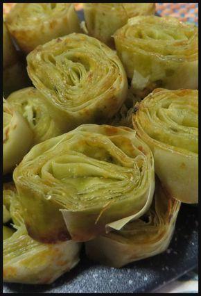 Girelle di pasta fillo per un antipasto troppo gustoso ! #pastafillo #pastaphillo #antipasto #ricette #ricettegustose