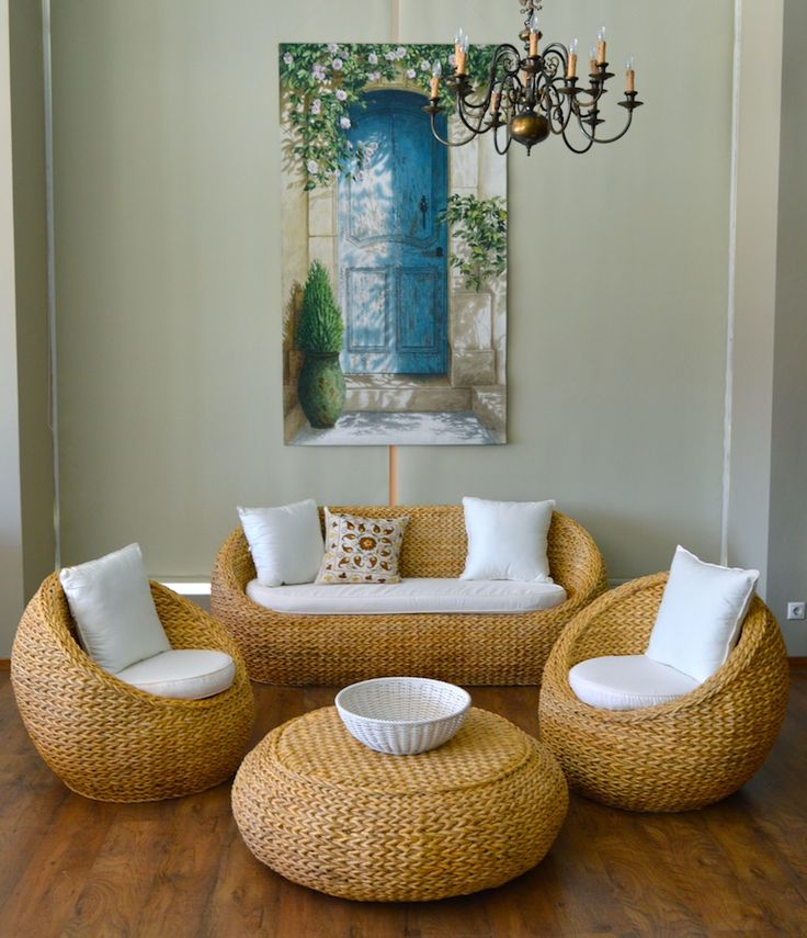 rattan banana furniture