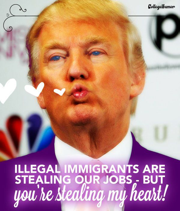 10 Donald Trump Valentines To Make Your Love Great Again Funny
