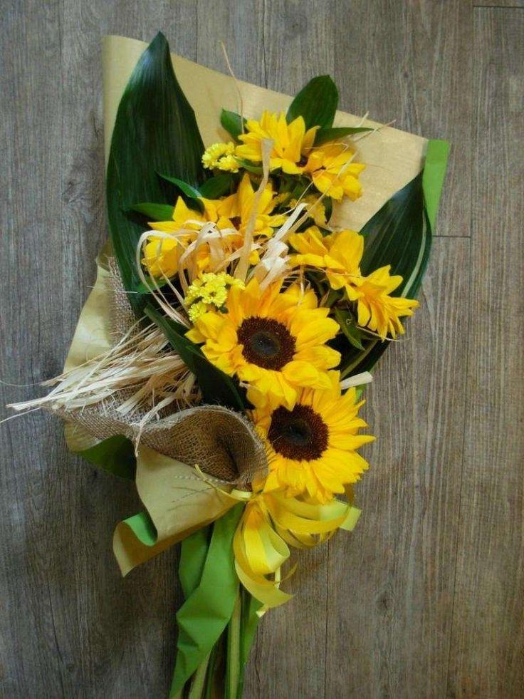 Composizioni floreali per la laurea - Girasoli per la laurea