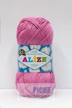 Poze Fir de tricotat sau crosetat - Fir BUMBAC 100% ALIZE MISS ROZ 264
