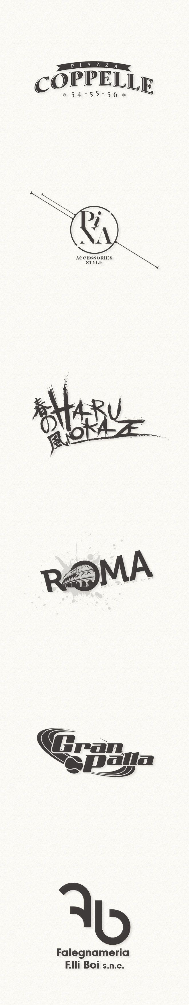 SIMONE BOI | GRAPHIC DESIGNER Loghi www.simoneboi.it