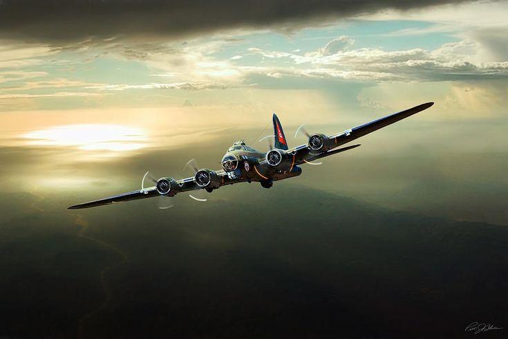 Авиации цифровое искусство - Буревестник Питер Chilelli