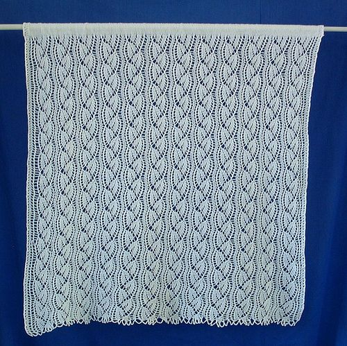 Free Knitting Patterns Lace Panels : 17 Best images about Knitting - curtains on Pinterest ...