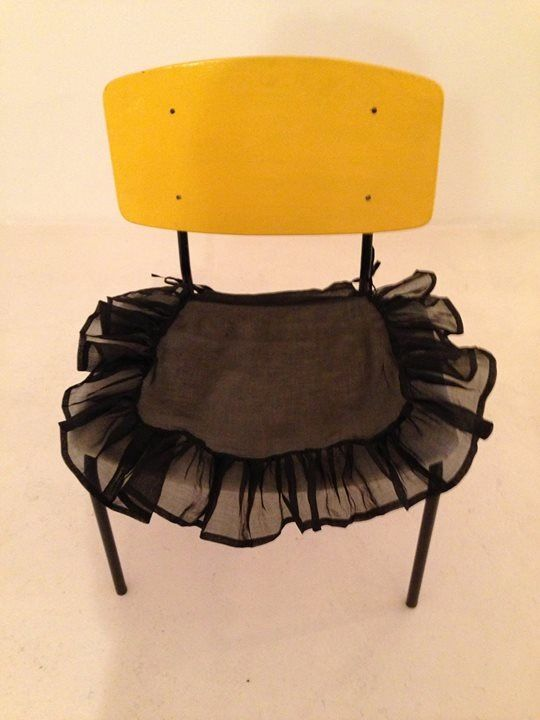 I love this Gorgeous chair and slip cover by The Stanley Supply Store. Great combination!
