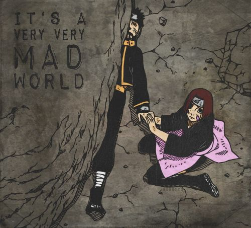 """Obito's """"death."""" NO!!! THIS IS AMAZING AND TERRIBLE AT THE SAME TIME!!"""