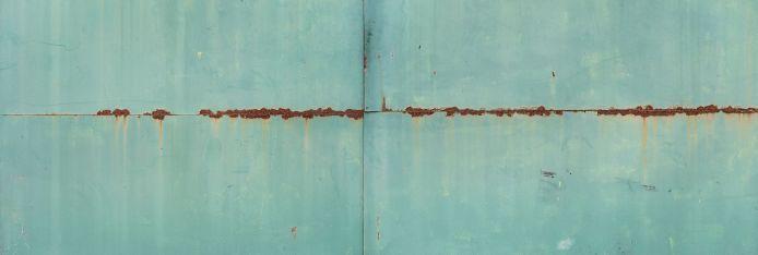 Текстуры высокого разрешения - Старая Краска - Текстура металл с потеками ржавчины