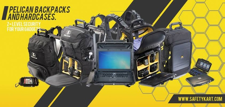 Z+ Level Security for your gadgets! Complete Range of Backpacks and Hardcases from @Pelican Products  #InsanelyGreat