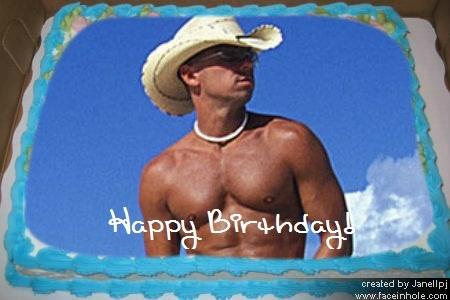 Kenny Chesney Birthday Cake Love Pinterest 30th