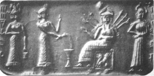 z - 2 unidentified goddesses, Inanna, & Ninshubur, the assistant to Inanna, artefacts of a few goddesses supporting the royal family of alien gods on Earth Colony, artefacts of the gods & goddesses are shamefully being destroyed by Radical Islam, accomplishing nothing by their horrific deeds