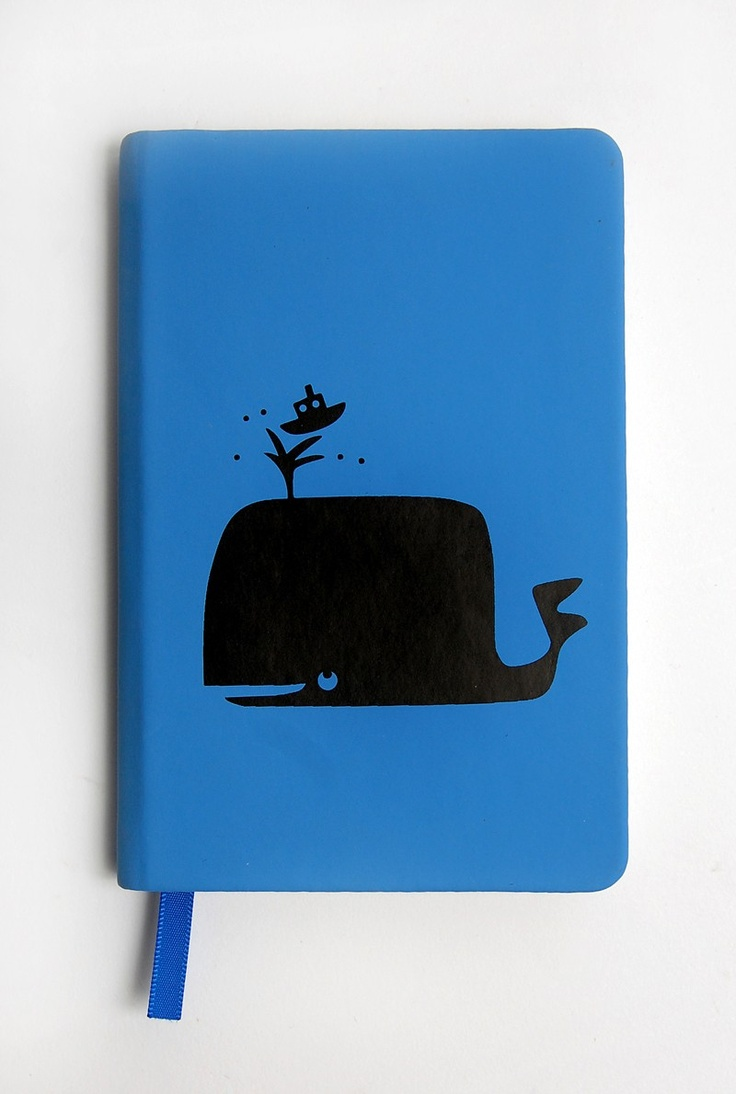 Circus A6 Notebook - Waldo the Whale