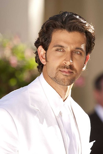 Hrithik Roshan, looking absolutely angelic in white.