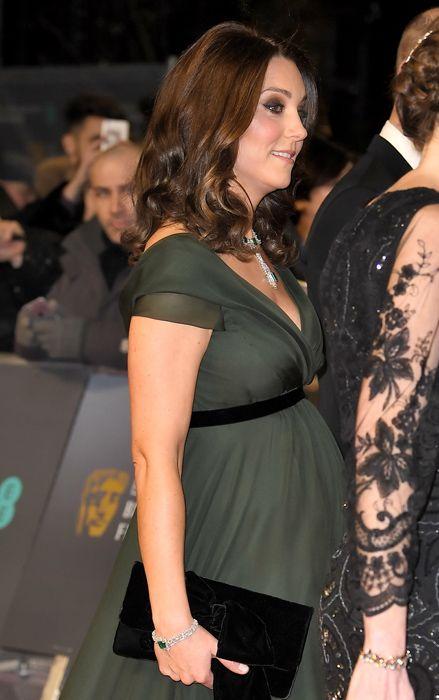 Why Kate Middleton didn't wear black at BAFTAs 2018