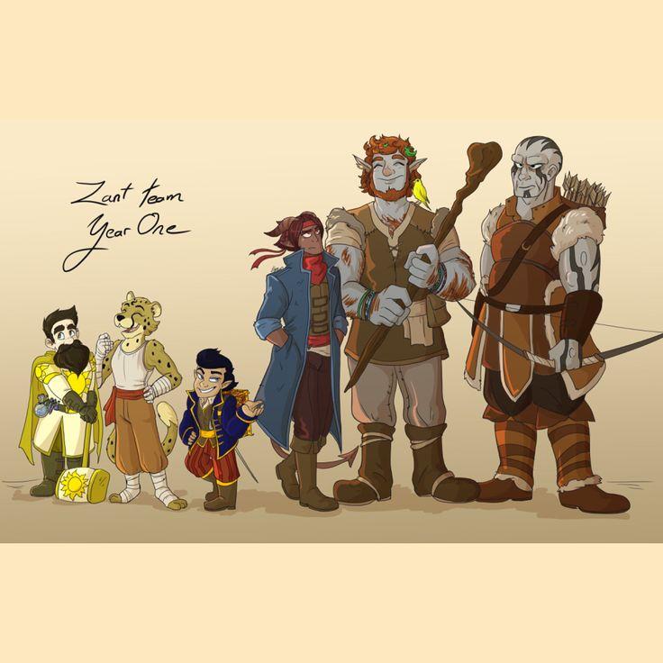 156 Best D&D Character Art