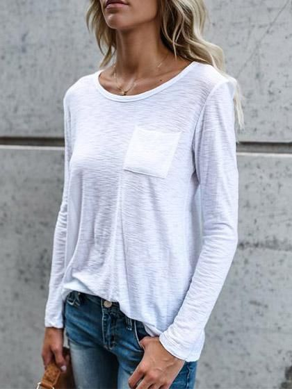 Chicnico Casual Elegant Chest Pocket White Long Sleeve Top http://shareasale.com/r.cfm?b=910460&u=1425877&m=65860&urllink=https%3A%2F%2Fwww%2Echicnico%2Ecom%2Fcollections%2F2017%2Dnew%2Darrivals%2Fproducts%2Fchicnico%2Dcasual%2Delegant%2Dchest%2Dpocket%2Dwhite%2Dlong%2Dsleeve%2Dtop&afftrack=