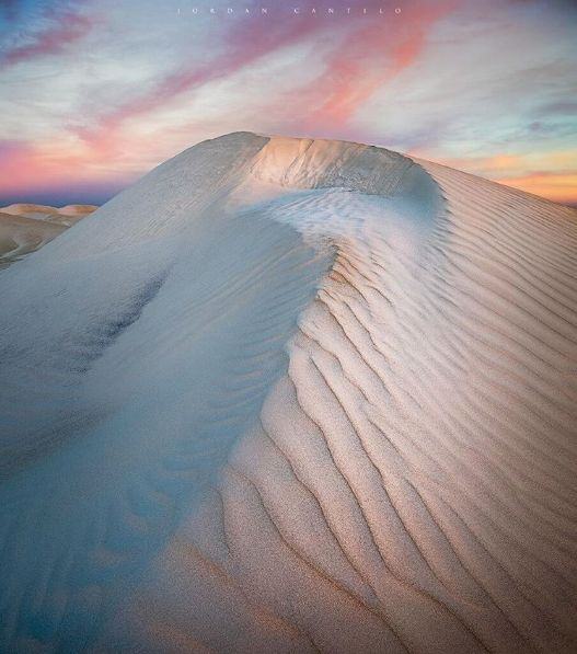 """Ice-cream dunes"" south of Cervantes Western Australia"