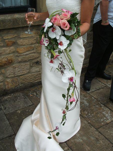 Cascade Orchid Bridal Bouquet : Best cascading bridal bouquets ideas on